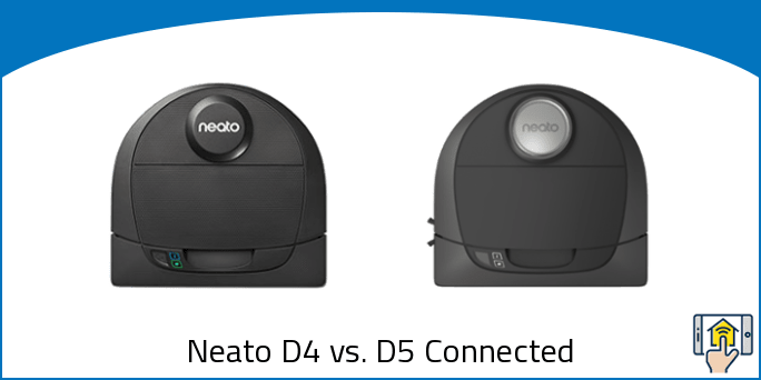 Neato D4 vs. D5 Connected