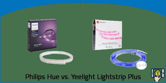Philips Hue Lightstrip Plus vs Yeelight Lightstrip Plus