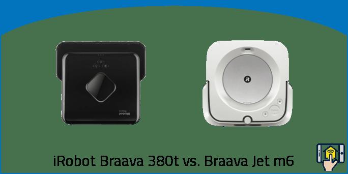 iRobot Braava 380t vs. Braava Jet m6