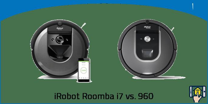 iRobot Roomba i7 vs. 960