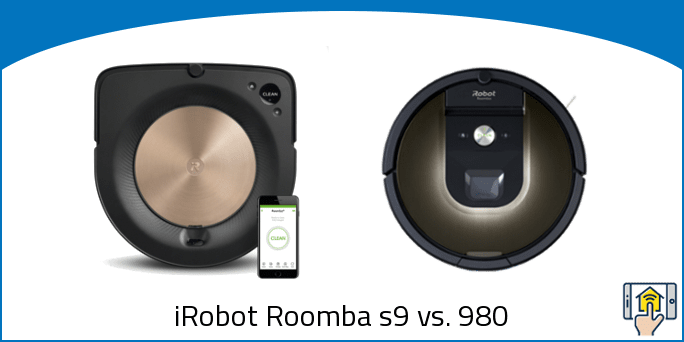 iRobot Roomba s9 vs. 980
