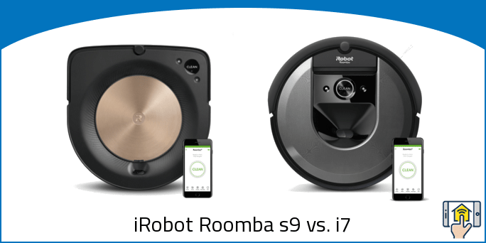 iRobot Roomba s9 vs i7 differences explained