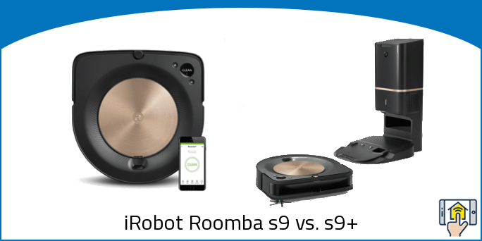 iRobot Roomba s9 vs. s9+