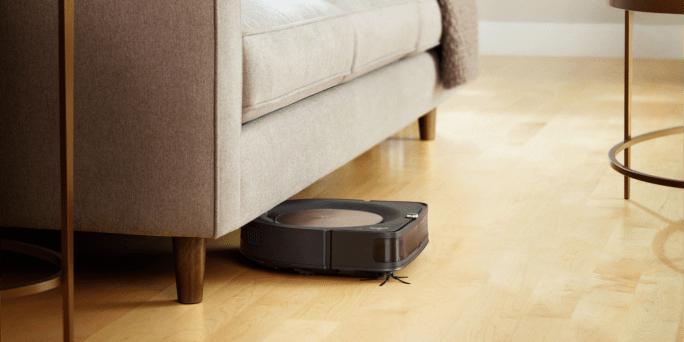 iRobot Roomba s9 under the furniture