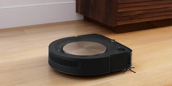iRobot Roomba s9 wood floor
