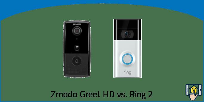 Zmodo Greet HD vs Ring 2