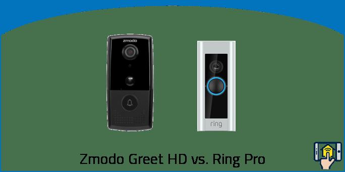 Zmodo Greet HD vs Ring Pro
