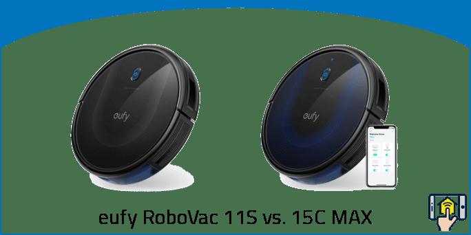 eufy RoboVac 11S vs. 15C MAX