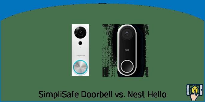 SimpliSafe Video Doorbell vs. Nest Hello