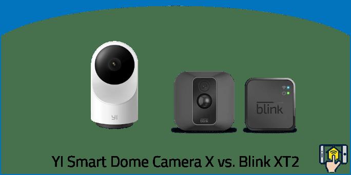 YI Smart Dome Camera X vs Blink XT2
