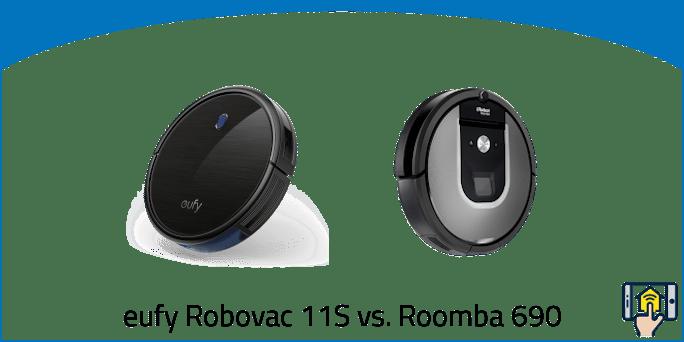 eufy Robovac 11S vs. Roomba 690