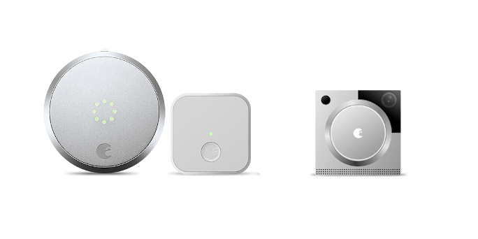 August Smart Lock Pro Connect with Doorbell Cam Pro