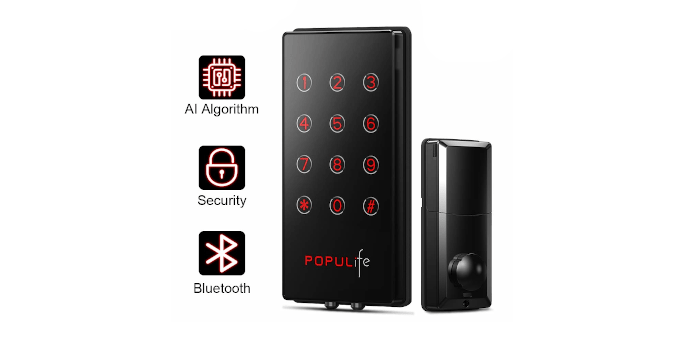 PopuLife Smart Keyless Entry Deadbolt