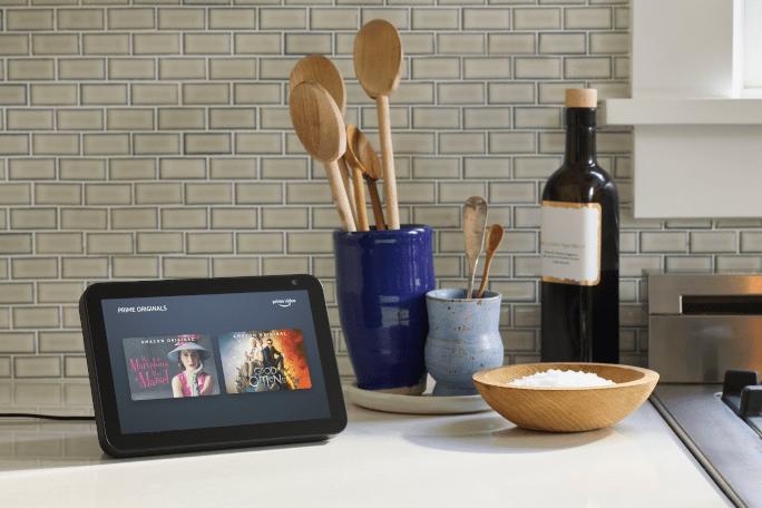 Echo Show-kitchen