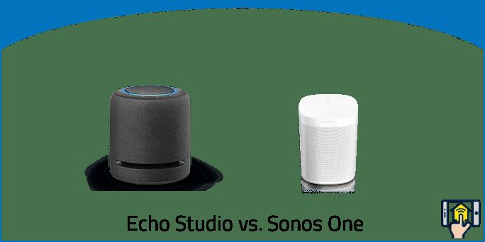 Echo Studio vs. Sonos One