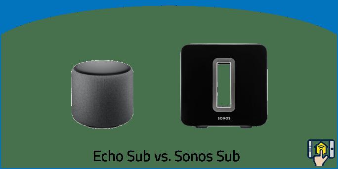 Echo Sub vs. Sonos Sub