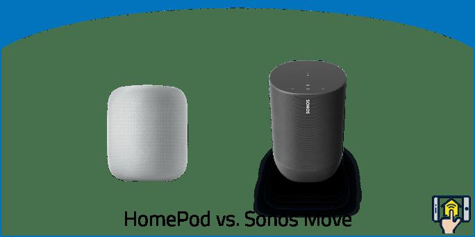 HomePod vs. Sonos Move