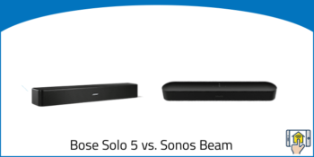 Bose Solo 5 vs. Sonos Beam