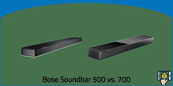 Bose Soundbar 500 vs. 700