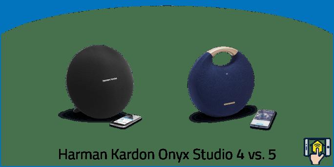 Harman Kardon Onyx Studio 4 vs. 5