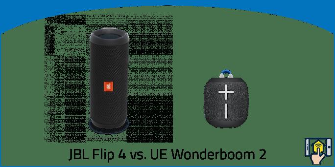 JBL Flip 4 vs. UE Wonderboom 2
