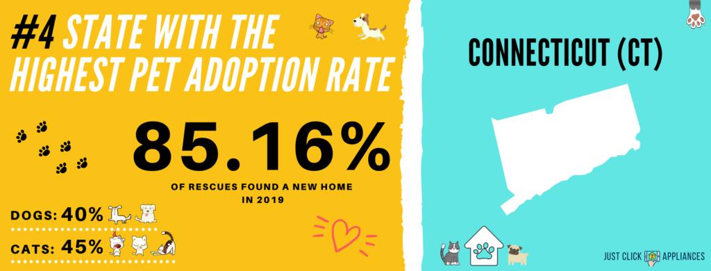 Pet Adoption Rate Connecticut (CT)