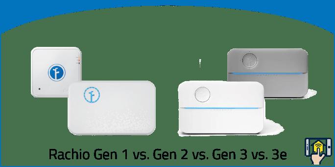 Rachio Gen 1 vs. Gen 2 vs. Gen 3 vs. 3e — Brief & Full Overview of the differences