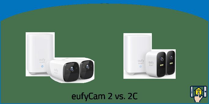 eufyCam 2 vs 2C